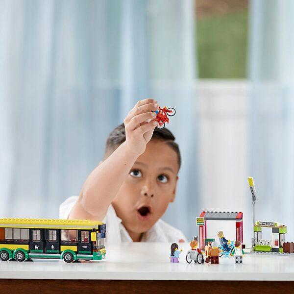 Lego Bus Station-2529