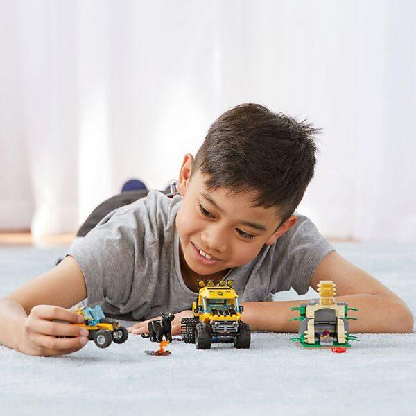 Lego Jungle Halftrack Mission