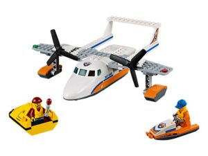 Lego Sea Rescue Plane-0