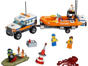 Lego 4 x 4 Response Unit-0