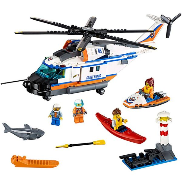 Lego Heavy duty Rescue Helicopter-0