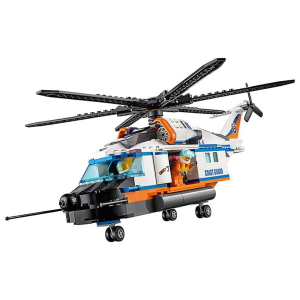 Lego Heavy duty Rescue Helicopter-2582