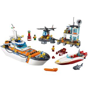 Lego Coast Guard Head Quarters-0