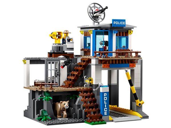 Lego Mountain Police HQ