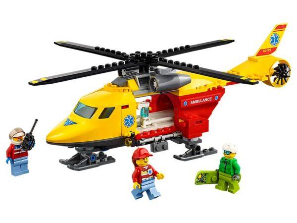 Lego Ambulance Helicopter
