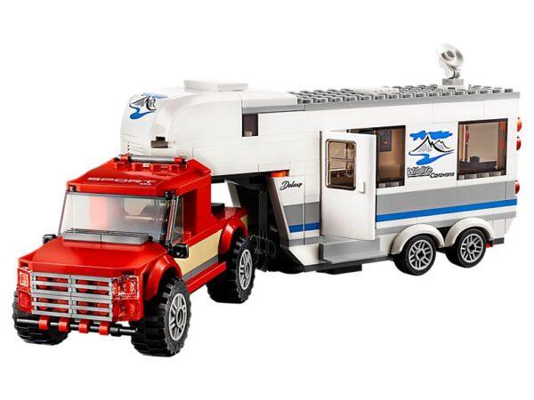 Lego Pickup & Caravan