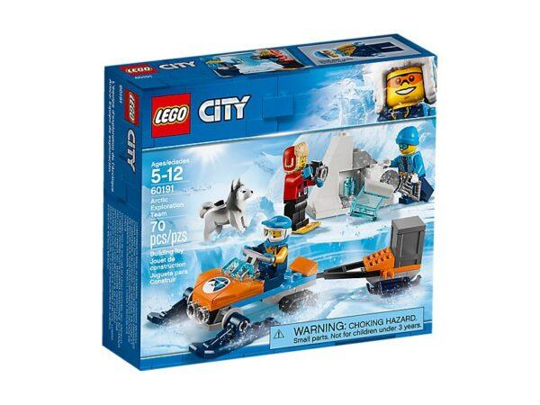 Lego Arctic Exploration Team