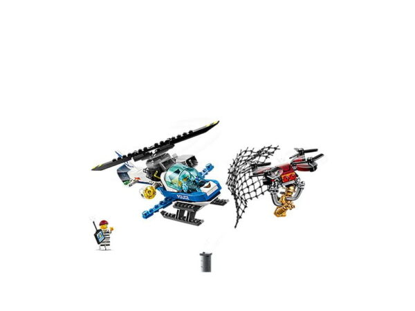 Lego Sky Police Drone Chase-2701