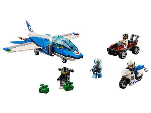 Lego Sky Police Parachute Arrest-0