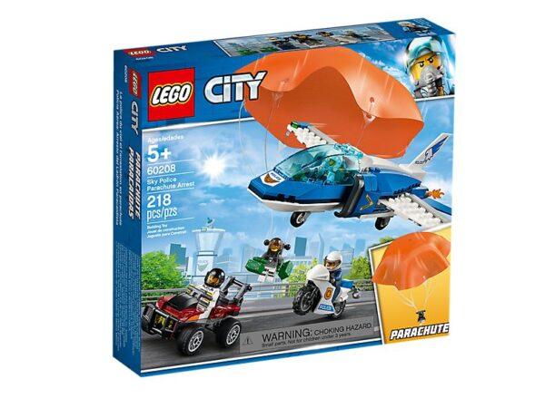 Lego Sky Police Parachute Arrest-2704