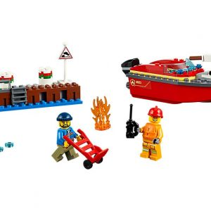 Lego Dock Side Fire-0