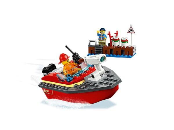 Lego Dock Side Fire
