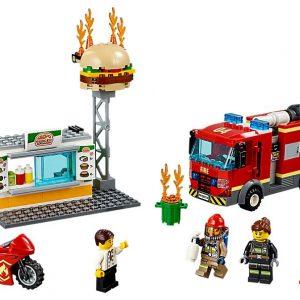 Lego Burger Bar Fire Rescue-0