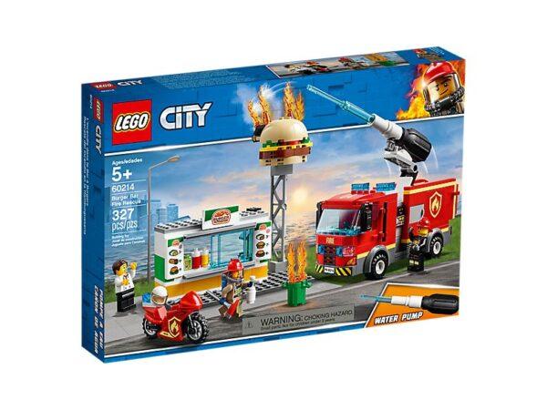 Lego Burger Bar Fire Rescue-2717