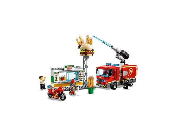 Lego Burger Bar Fire Rescue-2718