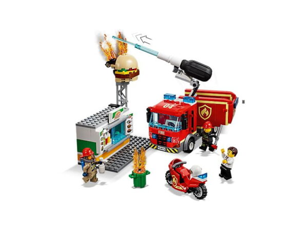 Lego Burger Bar Fire Rescue-2719