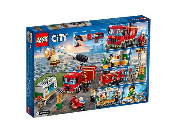 Lego Burger Bar Fire Rescue-2720