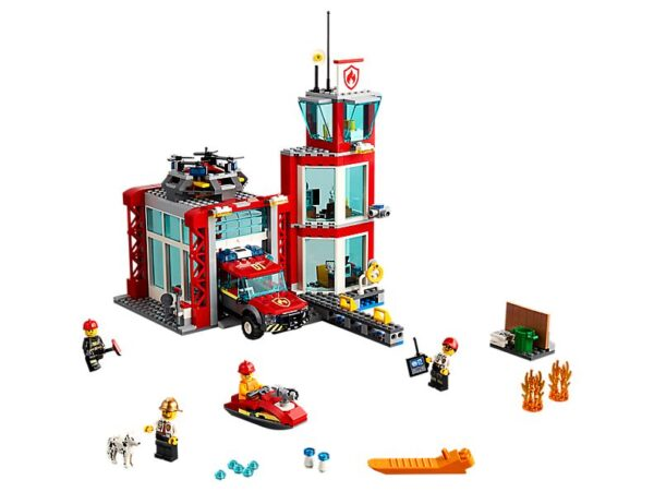Lego Fire Station-0
