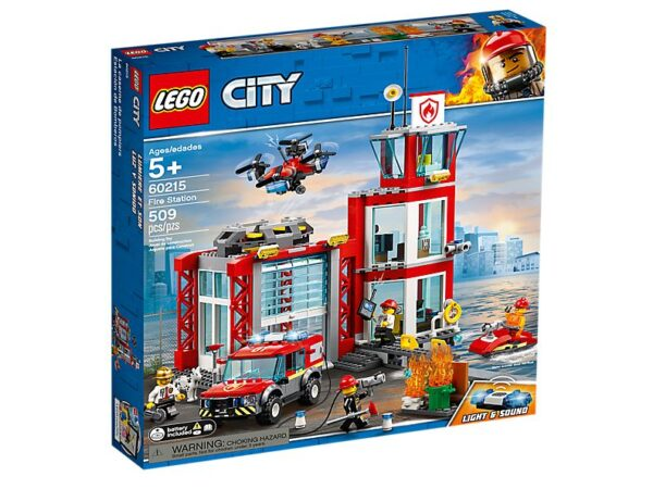 Lego Fire Station-2722