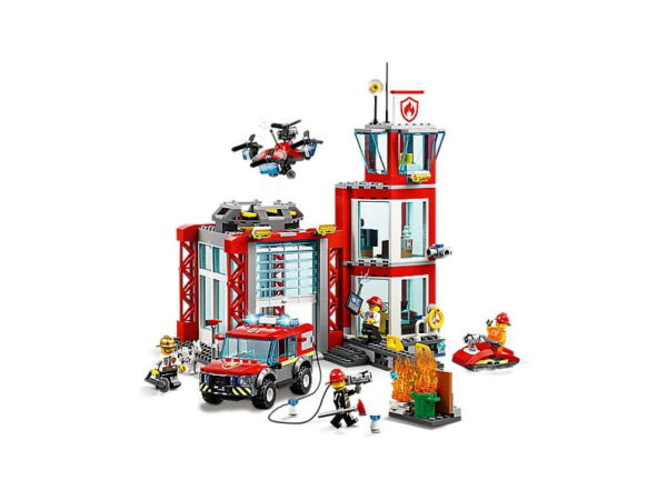 Lego Fire Station-2723