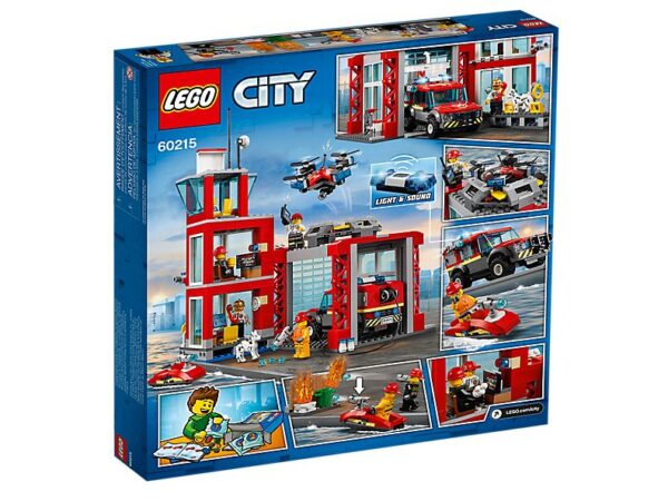Lego Fire Station-2725