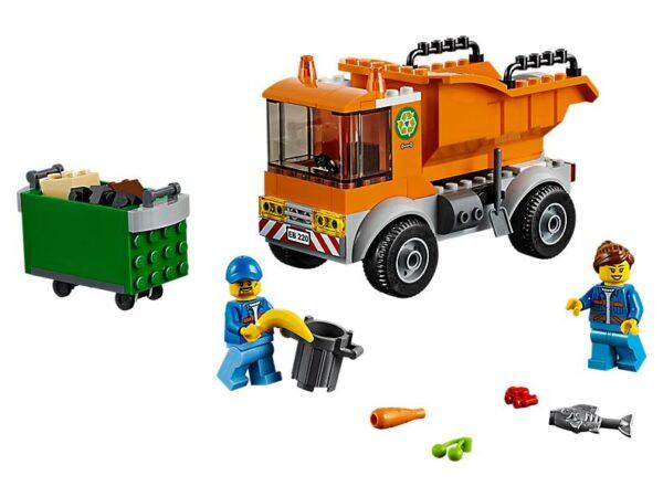 Lego Garbage Truck-0