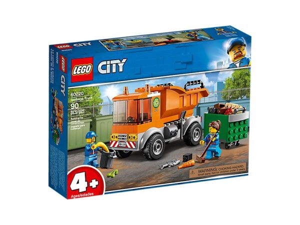 Lego Garbage Truck-2736
