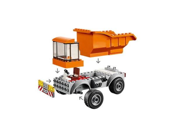 Lego Garbage Truck-2738