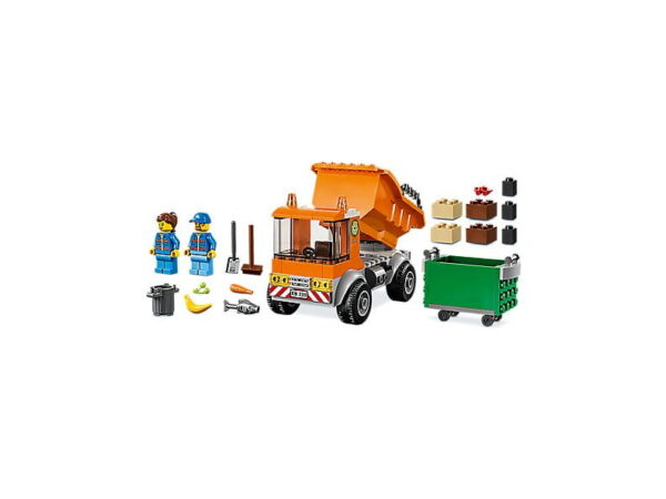 Lego Garbage Truck-2739