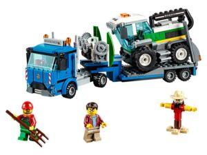 Lego Harvester Transport-0