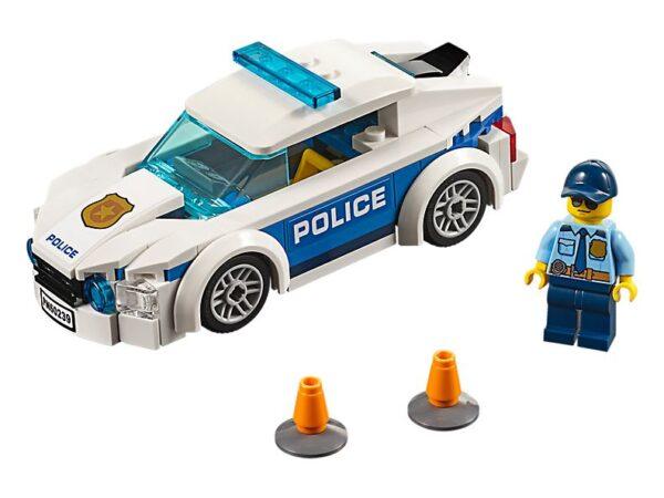 Lego Police Patrol Car-0