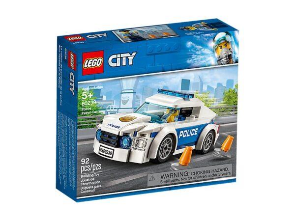 Lego Police Patrol Car-2756
