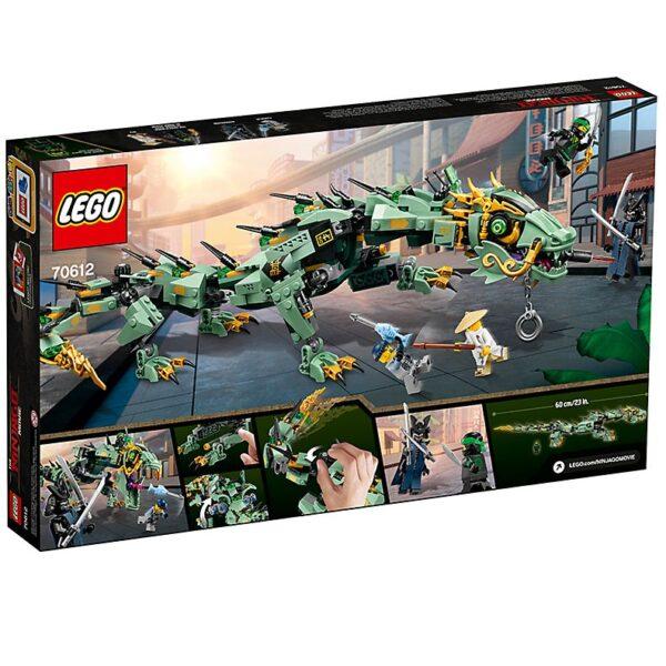 Lego Green Ninja Mech Dragon