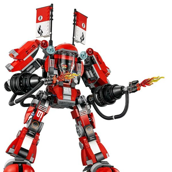 Lego Fire Mech-2849