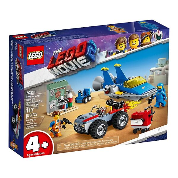 Lego Emmet and Benny's Build and Fix-2917