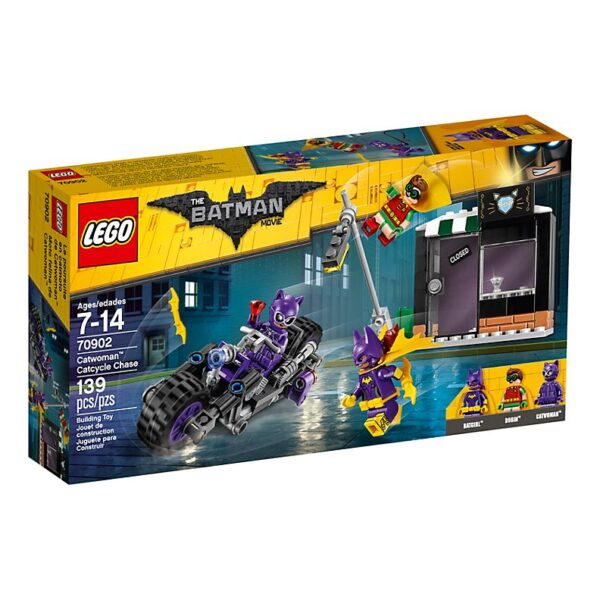 Lego Catwoman Catcycle Chase