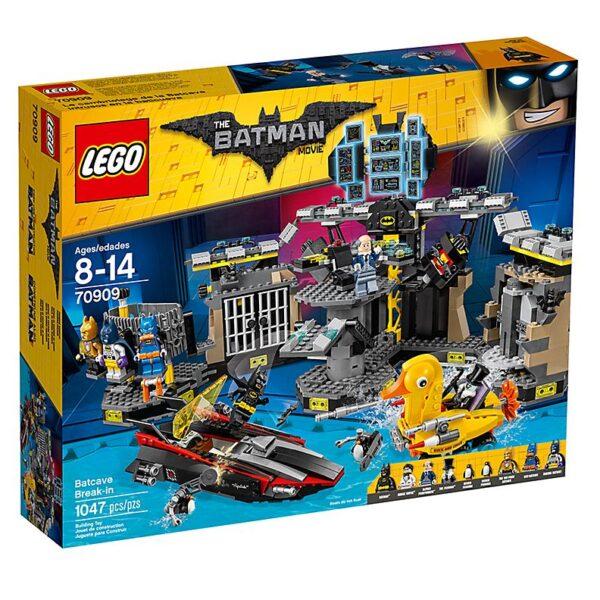 Lego Batcave Break-in