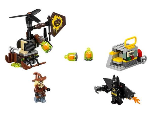 Lego Scarecrow Fearful Face-off