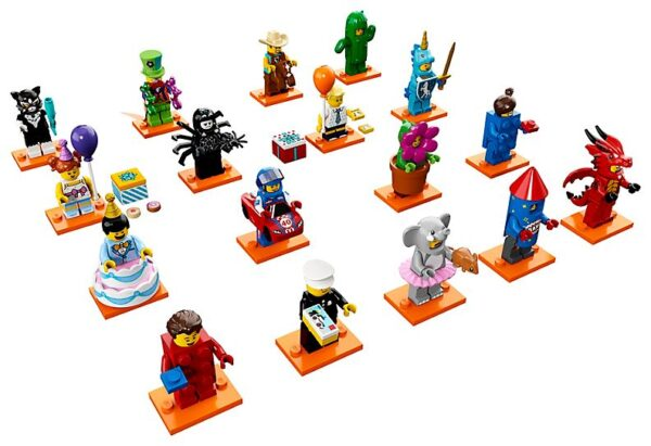 Lego Series 18: Party-3485