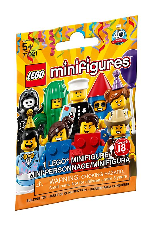 Lego Series 18: Party-3484