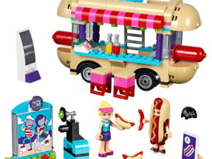 Lego Amusement Park hot Dog Van-0