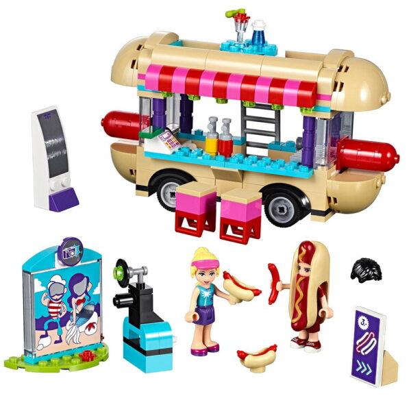 Lego Amusement Park hot Dog Van-0