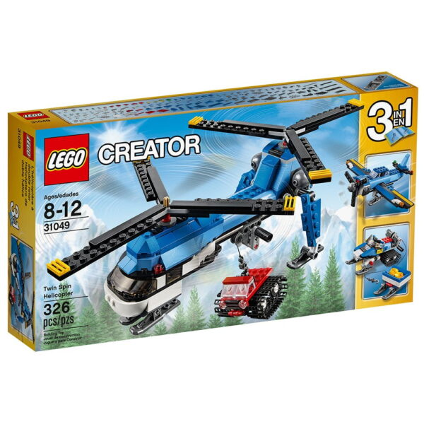 Lego Twin Spin Helicopter-1786