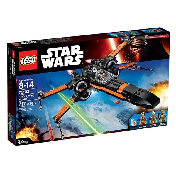 Lego Poe's X-Wing Fighter-3036