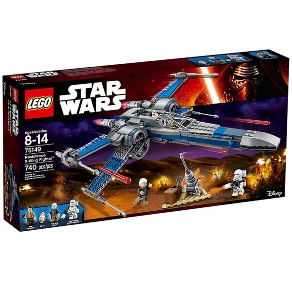Lego Resistance X-Wing Fighter-3071
