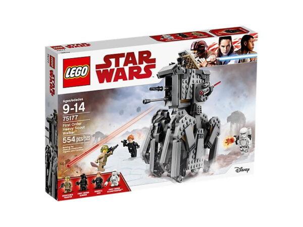 Lego First Order Heavy Scout Walker-3096