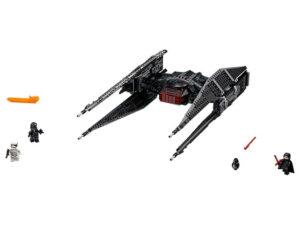 Lego Kylo Ren's TIE Fighter-0