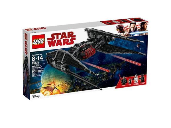 Lego Kylo Ren's TIE Fighter-3106