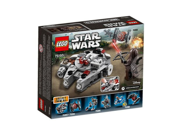Lego Millennium Falcon Microfighter-3151
