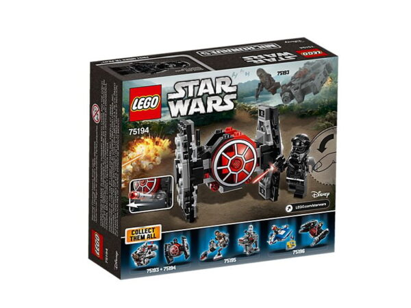 Lego First Order TIE Fighter Microfighter-3158